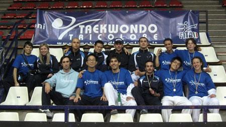 Squadra seniores Taekwondo Tricolore