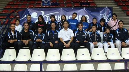Squadra cadetti e junior Taekwondo Tricolore
