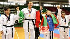 Podio - Mondiale Militare Taekwondo