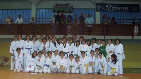 Esami di taekwondo a Rio Saliceto - Foto di Gruppo