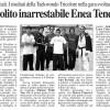 Giornale di Reggio 2009-10-06 - Interregionale Veneto