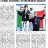 Giornale di Reggio -2012-03-21 - Campionati Italiani Cadetti