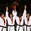 Podio Olimpiadi Taekwondo cat -67 kg