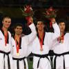 Podio Olmpiadi taekwondo cat -80 kg
