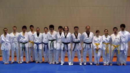 Esami di taekwondo adulti