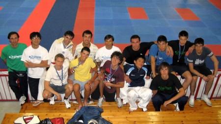 La squadra in Liguria