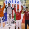 Podio categoria 68kg