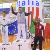 Podio categoria 54kg colorate