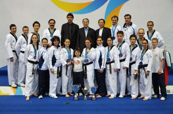 Nazionale Italiana ai Campionati Europei di forme
