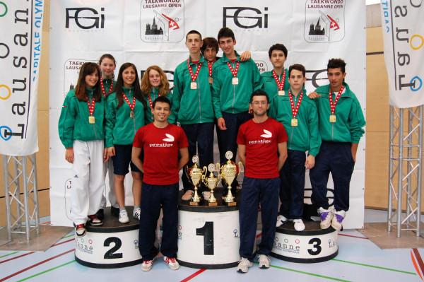 Squadra regionale Emilia Romagna al Losanna Open 2011