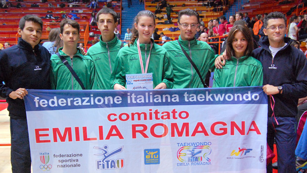 Squadra regionale Emilia Romagna ai Croatia Open 2011
