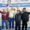 Taekwondo Tricolore 4° società classificata nel femminile