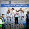 Letizia Di Blasio Campionessa italiana Cadetti 2012 cat -47 kg -podio