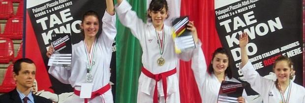 Campionati Italiani Juniores 2012 a Verona