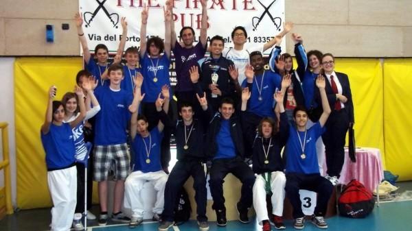 Taekwondo Tricolore su le mani