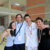 Daniele con gli universitari