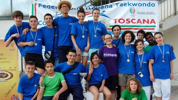 Taekwondo Tricolore prima classificata