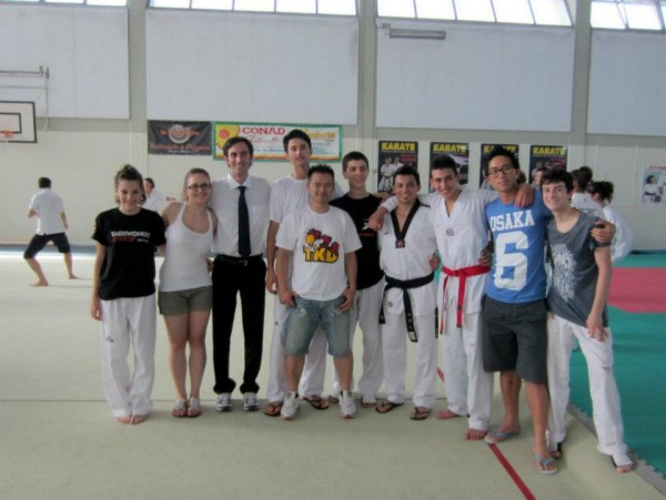 Taekwondo Tricolore esami dan