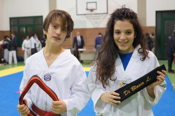 Letizia Di Blasio e Vittorio Manfredini Cinture Nere