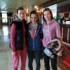 letizia con le sorelle zaninovic