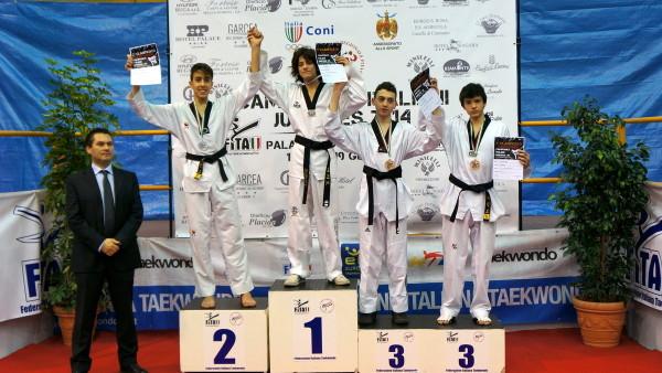 Alberto Foroni Campione Italiano Juniores 2014