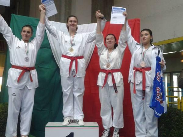 Laura Giacomini Campionessa Italiana