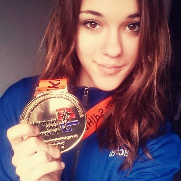 Alessia oro in -52 junior al dutch open