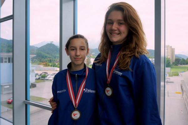 Bianca e Laua bronzo austrian open
