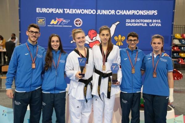 medagliati campionati europei