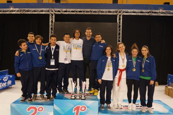 Tricolroe campione d'Italia cinture rosse con Carlo Molfetta