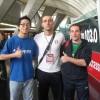 Leonardo Basile con Lucio e Gabri