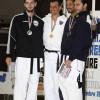 Podio della cat -87 Campionati Italiani Taekwondo 2010