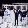 Podio della cat -87 Campionati Italiani Taekwondo 2010 - 2