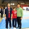 Dan e Leti assieme al coach della Nazionale M° Yoon