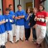 La squadra cadetti della Bassa