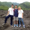 Luca Lucio e Jessica sul Etna