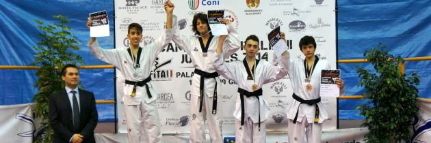 Campionati Italiani Juniores 2014 a Catanzaro
