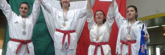 Laura Giacomini Campionessa Italiana Cintura Rosse Junior