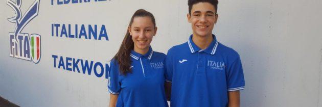 Bianca e Nicolas ai Campionati Europei 2017 a Cipro