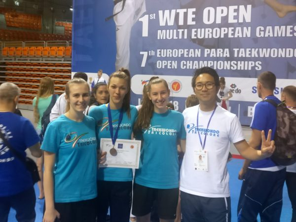 1st Open Multi European Games