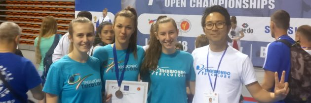 1st Open Multi European Games a Plovdiv