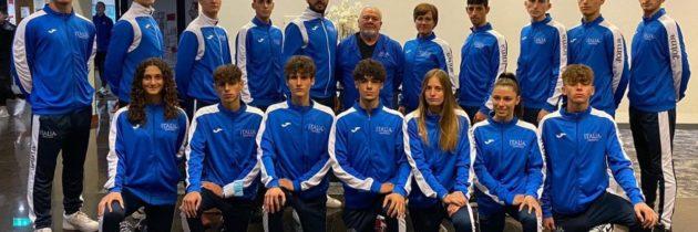Nicolas ai Campionati Europei Under 21