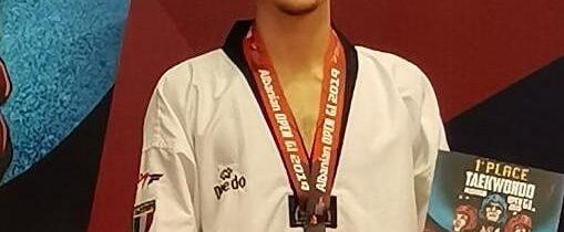Oro per Nicolas al Albania Open 2019
