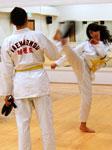corso di taekwondo allenamento