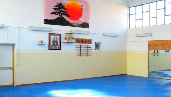 Interno della Palestra di Taekwondo Shodan di Reggio Emilia