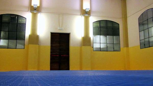 Interno della Palestra di Taekwondo Shodan Succursale